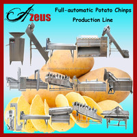 Fully Automatic Natural Machine To Make Chips Potato Chips