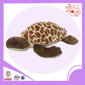 turtle shape brown plush toy