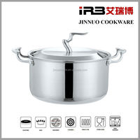 Tri-ply Stainless Steel Cookware(Stockpot,Soup pot, with Lid) JN-TG-2017
