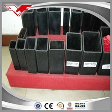 high quality hot rolled square hollow section steel pipes weight
