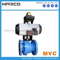 Hot sale flange and butt welded end water floating or trunnion electric and pneumatic ball valve with actuator sized