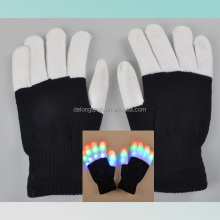 Newest novelty led flashing gloves for party festival Christmas