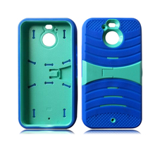 ladders shape combo protector case with stand for HTC Bolt