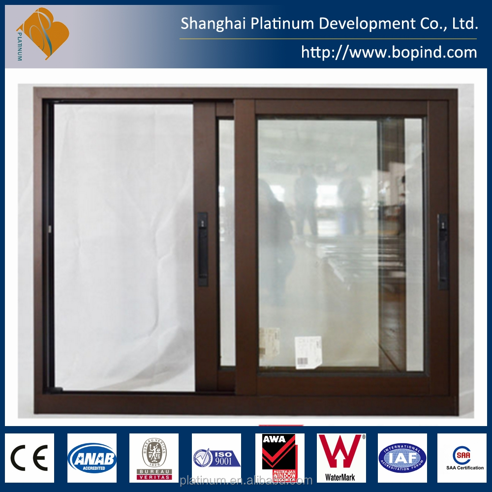 Australia Standard Double Glazed Aluminium Sliding Window