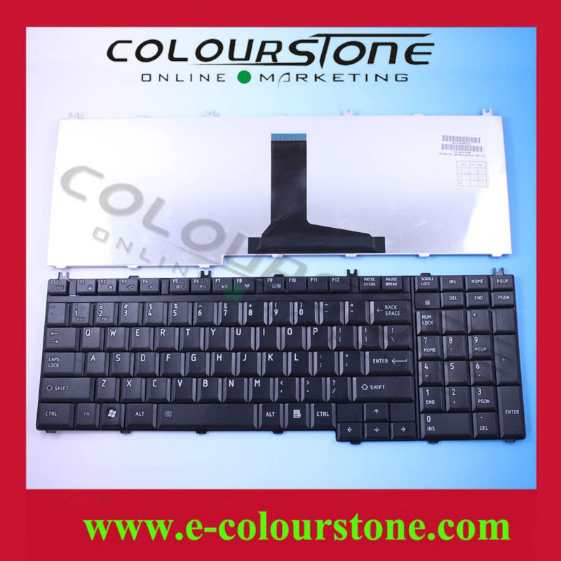 Original Laptop Keyboard For Toshiba P300 L500 L350 US Layout MP-06873US-3564