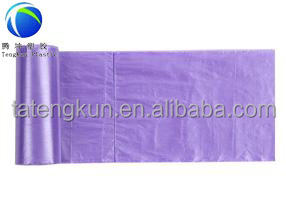 transparent waste plastic bags on roll,cheap high quality plastic trash bags with logo,plastic black rubble bags