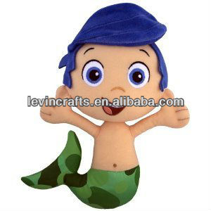 LE h1532 bubble guppies gil plush doll