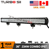 Local Delivery 234w offroad light bar 18w 27w 36w 45w 54w 72w 120w 160w 180w 288w 300w