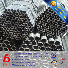 14 years Factory BS 1387 Hot Dip Galvanized Steel Pipe schedule 80 pipe wall thickness