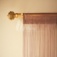 New Fashion High Quality Fabric Beaded Door Curtain