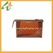 new style best selling colored pvc cosmetic bag with zipper