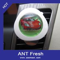 1Pcs New Cute Car Fresh Air Ionic Purifier For Car Oxygen Bar Ionizer Cleaner