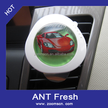 1Pcs New Cute Car Fresh Air Ionic Purifier For Car Oxygen Bar Ionizer Cleaner