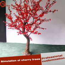 Christmas Decoration 180cm Height LED Tree light Outdoor Cherry Tree lighting Red Color
