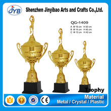 Basketball awards metal basketball figure trophy for sports Champion