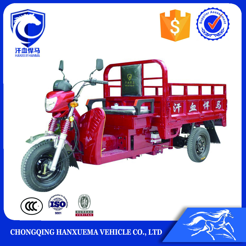 Chinese 3 Wheel Handicapped cargo tricycle