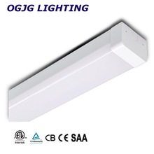 energy saving aluminium housing fitting ceiling mounted linear batten light fixture T5 dimmable led tube lamp