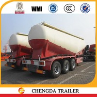 2016 new good quality BPW axle 30m3 cement bulker in dubai