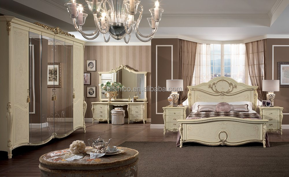 Best Selling 2016 Classic Victorian Style Wooden Creamy
