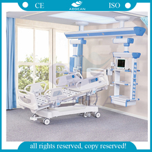 ICU room used with 10 part bedboard hospital bed supplier