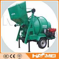 China HAOMEI Portable Concrete Mixer With Plastic Drum