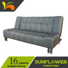 Hot sale folding practical modern living room sofa set made in china leather sofa