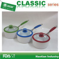16cm, 18cm, 20cm Aluminum ceramic coated Soup pot, cooking pot
