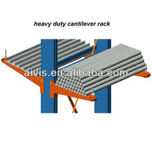 High utilization and efficient steel cantilever rack