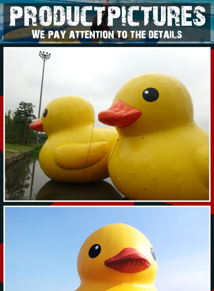 giant inflatable promotion pool duck for sale