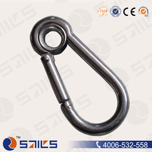 ISO Certificated Eyelet Snap Hook Spring Link With Zinc Plated