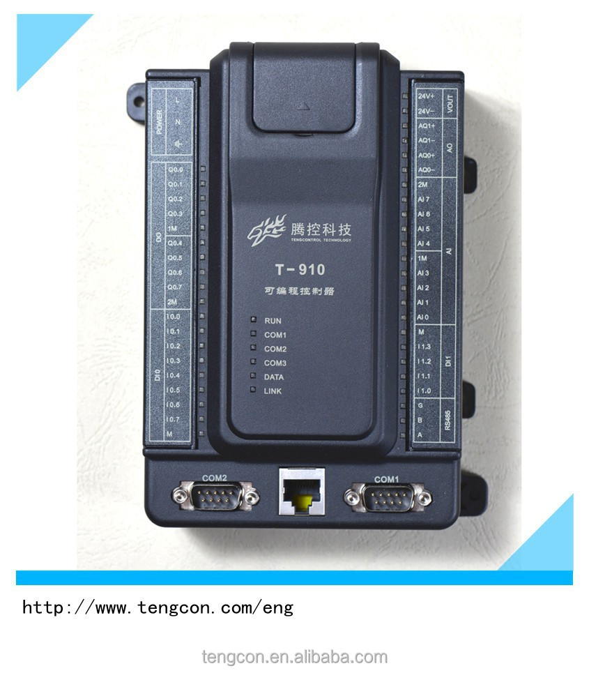 TENGCON T-910 Chinese Best and Cheap PLC with Analog and Digital