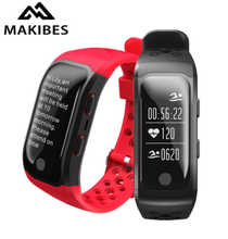 Makibes G03 GPS Smart Band IP68 Waterproof Sports Band GPS Chip Multi-sport Heart Rate Monitor Call Reminder S908 Smart Bracelet