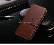 For iphone 7 Leather Case Flip Cover Folio Wallet Case with Credit Card Slot Holder Stand Top Selling Products in Alibaba