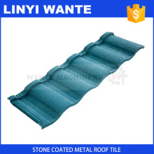 Specializing in China Light weight colorful stone coated metal roofing shingles With Good Service