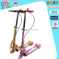 ICTI FACTORY MOST BEST QUALITY CHILDREN TOYS 2 WHEEL ELECTRIC SCOOTER FOR WHOLESALE