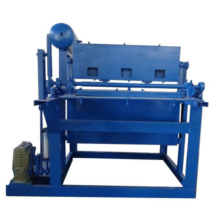 Rotated automatic recycled paper pulp egg tray making machine