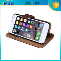 For iphone 6 leather wallet case , wallet leather phone case for iphone 6plus , accessories for iphone 6