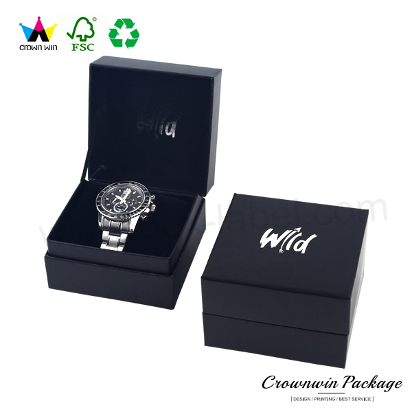 Luxury High Quality Custom Cardboard Paper Packaging Box Watch