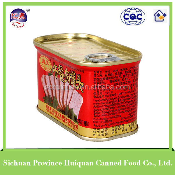 Trustworthy china supplier pork products canned manufacturer