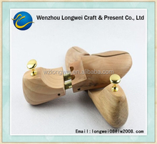 wood clear shoe tree/twin-tube shoe stretcher/shoes of keeper