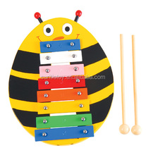 best friend birthday gift idea bee kids toys educational math games music instruments 8 notes metal keys xylophone instruments