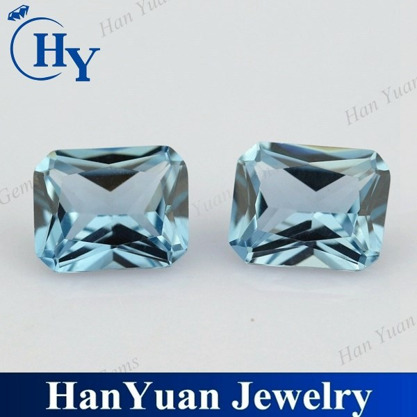 Fancy beautiful princess cut 106# octagon spinel gemstones