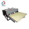 China manufacturer cheap large format dye sublimation flatbed pneumatic textile heat press machine for sale