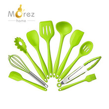Morezhome 10 Pieces Silicone Cooking and Baking Tool kitchen utensil Sets