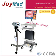 video image forming colposcopy examination system