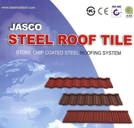 Stone Coated Steel Roof Tile (STAR-BOND)