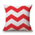 fabric cushion print cotton linen cushion cover big wave pillow