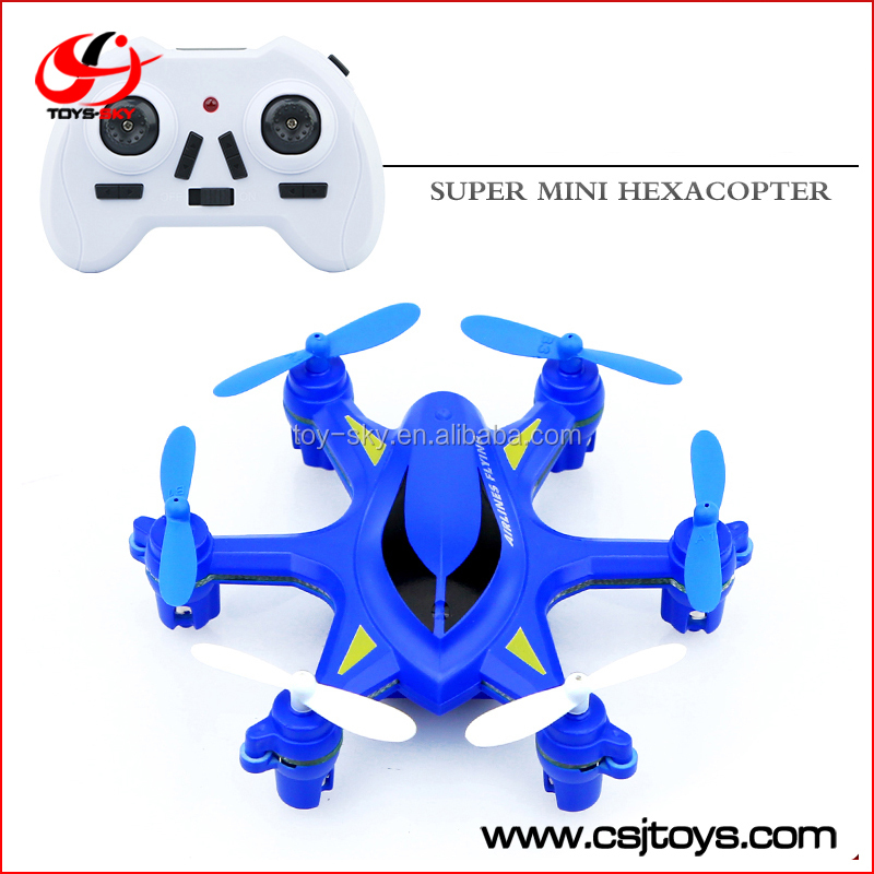 quad copter W609-5 6 axis nano drone with 3D flips hexacopter with LED