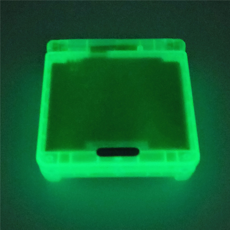 Hot Replacement For GBA SP Glow in the night GITD Luminous clear blue Housing shell For Nintendo GameBoy Advance SP console