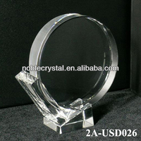 Noble New Design Blank Crystal Hockey Stick-Puck